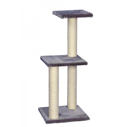 Nobby Rubin praskalnik za mačke, siv - 98 cm