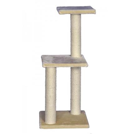 Nobby Rubin praskalnik za mačke, bež - 98 cm