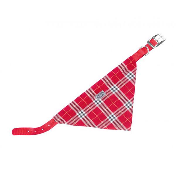 Nobby ovratnica z rutko 50 cm – rdeča