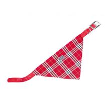 Nobby ovratnica z rutko 57 cm – rdeča