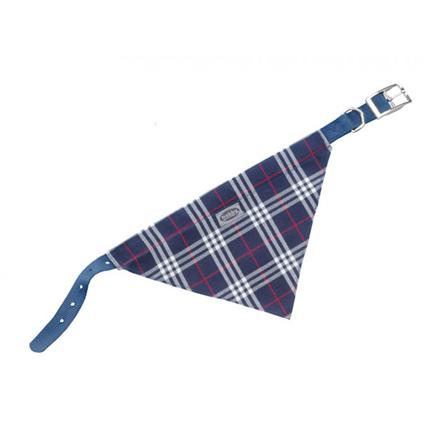Nobby ovratnica z rutko 57 cm – modra